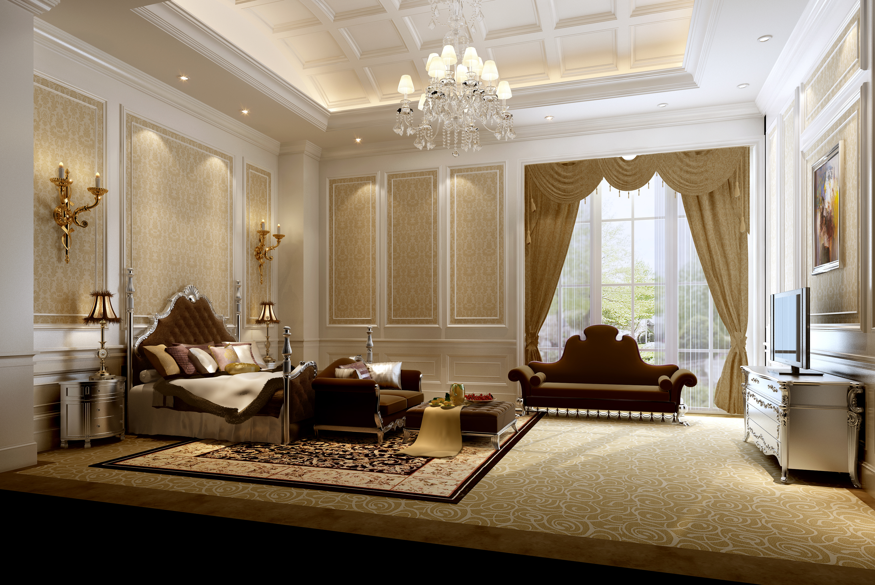luxury bedrooms luxurious bedrooms pictures QGNOOUN