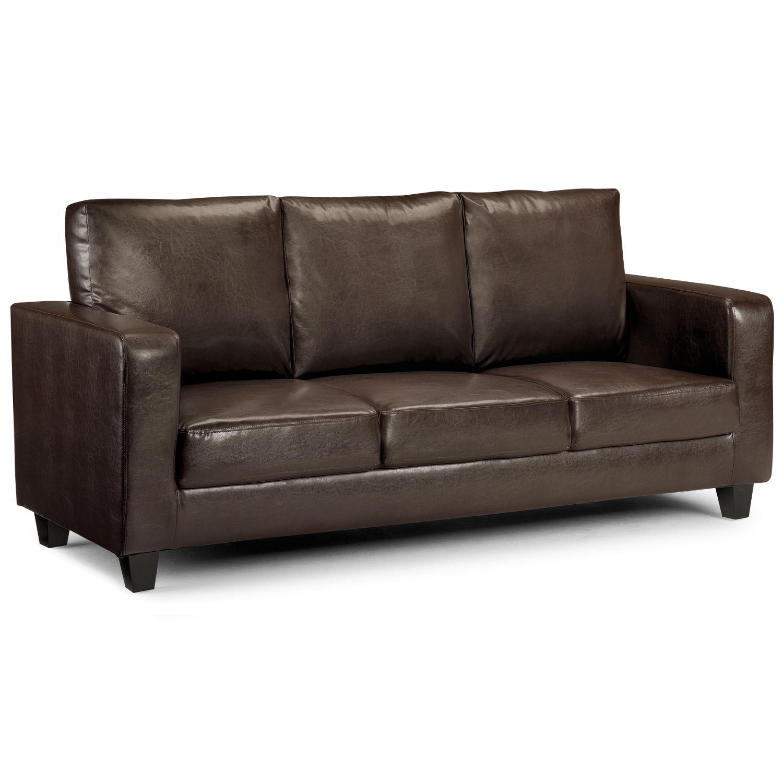 matthew 3 seater faux leather sofa sticker MGOKRPT