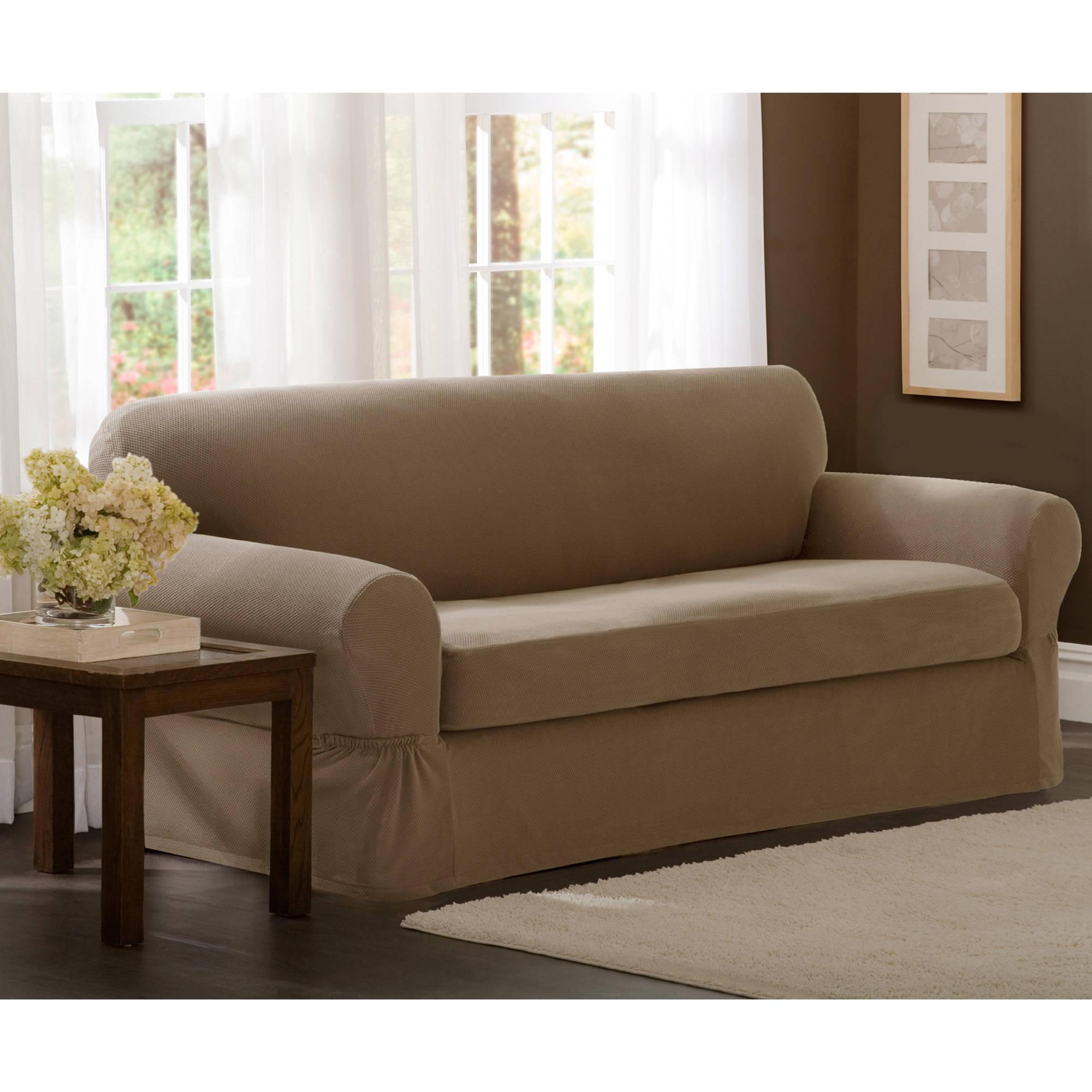 maytex stretch 2-piece sofa slipcover - walmart.com KFYBAJR