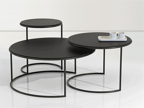 Buy a metal coffee table to relax for years while using it