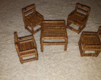 miniature bamboo furniture VYPTJHU