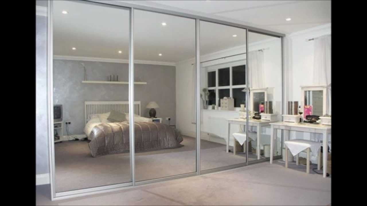 Get traditional look in your bedroom with mirror wardrobe