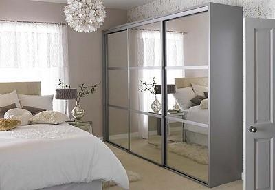 mirror wardrobe sliding wardrobe door mirror style3 BHCCFEN