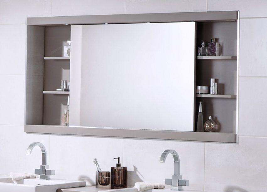 Mirrored Bathroom furniture mirrored bathroom cabinets VYUNIHO