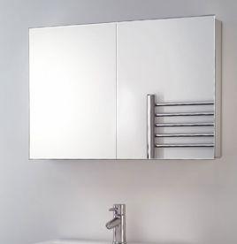 Mirrored Bathroom furniture non-illuminated YPWZPLQ
