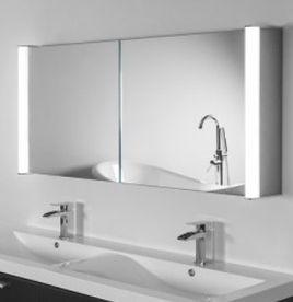 Mirrored Bathroom furniture super bright aura DZPDZNN