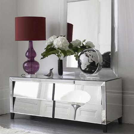 mirrored furniture ... glamorous furniture and design ideas - mirror furniture - mirrored  furniture QTMPRWX