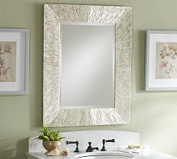 mirrors for bathrooms bathroom vanity mirrors | pottery barn BYQKLXP