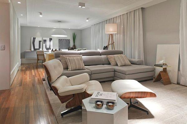 modern apartment interior design in brazil IXIEZRB