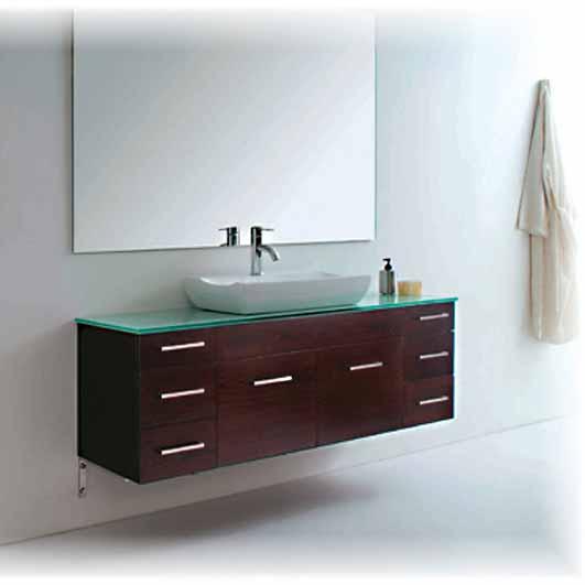 modern bathroom vanities giovanni ii - modern bathroom vanity set 59 MTPJZHI