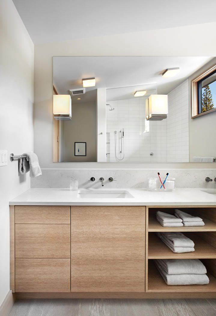 modern bathroom vanities this bathroom vanity features plenty of storage. CYBQXJH