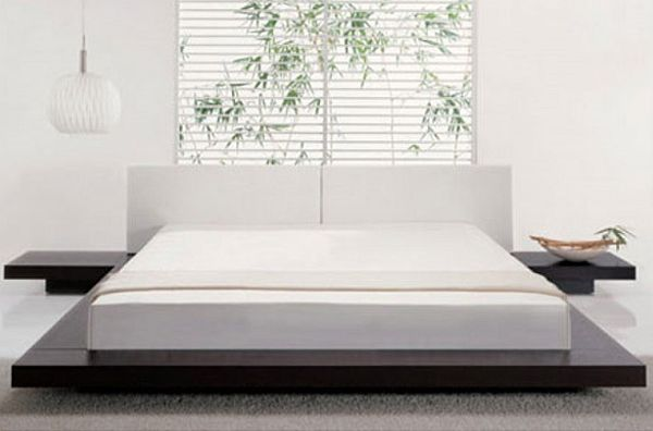 modern bed frames view in gallery contemporary style platform bed similar to jennifer  anistonu0027s EBNKYKC