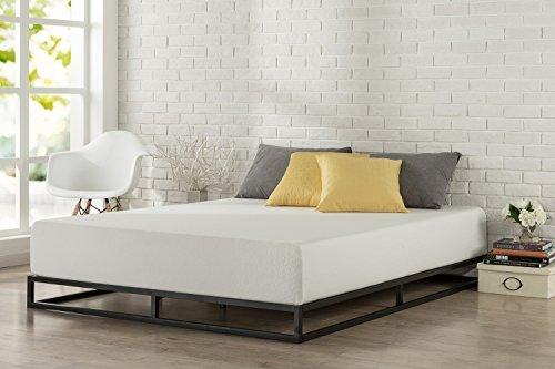 modern bed frames zinus modern studio 6 inch platforma low profile bed frame / mattress QHOCKPD