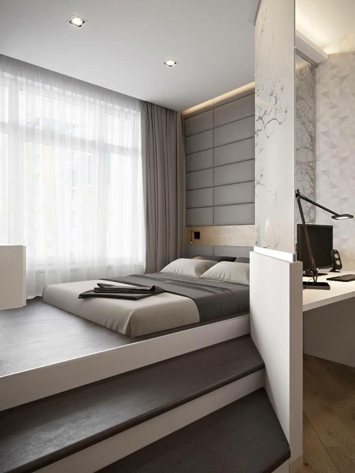 modern bedroom ideas une chambre minimaliste et contemporaine. www.m-habitat.fr/. STHJEJF