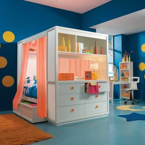 modern beds for kids room design ILLFPDM
