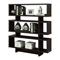 modern bookcase monarch - monarch 55 ZIQZNHN