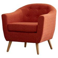 modern chairs laurence barrel chair EQAMAJE