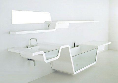 modern design ebb bathroom sink shelf CCYTUUR