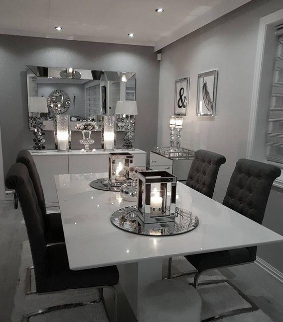 modern dining room ᒪoᑌiᔕe ♡ ENDGQJH