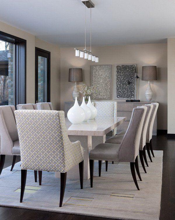 modern dining room 21 captivating contemporary dining room designs HOGLOKZ