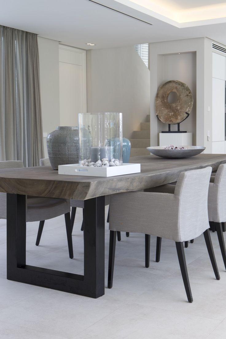modern dining table erik koijen - vakantiehuis marbella - hoog ■ exclusieve woon- en tuin FYETGMY