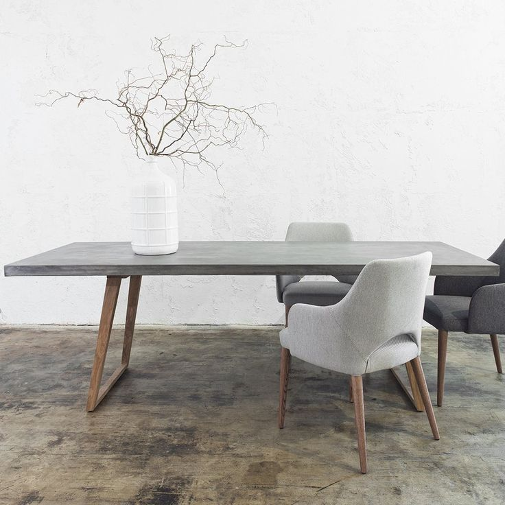 modern dining table how to match dining chairs with a designer table ITGZCOX