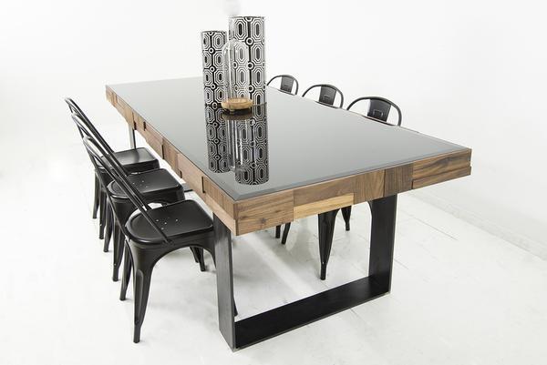 modern dining table kubist dining table WTEXAVD