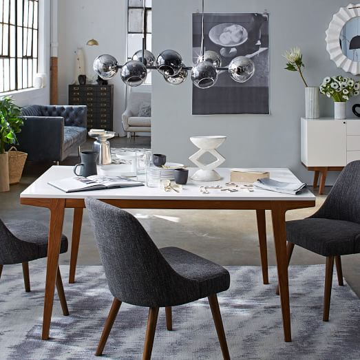 But modern dining table for compact space rooms