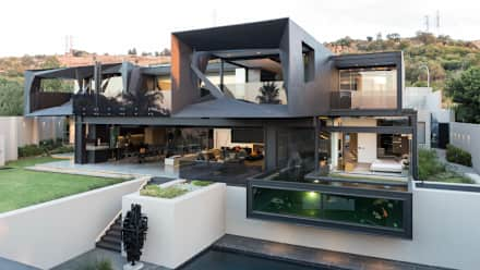 modern house house in kloof road : modern houses by nico van der meulen architects LNMZZHH