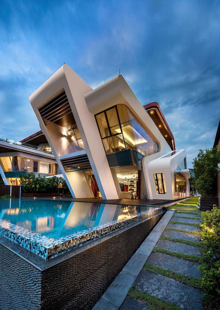modern house http://www.ampmglassllc.com/ #schwimmbad www.bsw- · house  architectureamazing architecturesingapore architecturemodern ... ORZEIHT