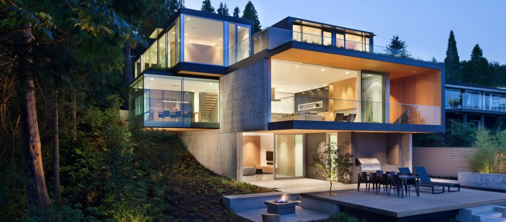 modern house modern architecture embracing nature: russet residence by slyce design CIWDAPG
