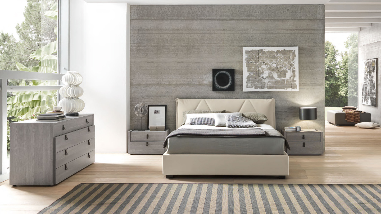 modern italian furniture ... espirit modern platform bedroom set sma furniture made in italy ... PERAICM