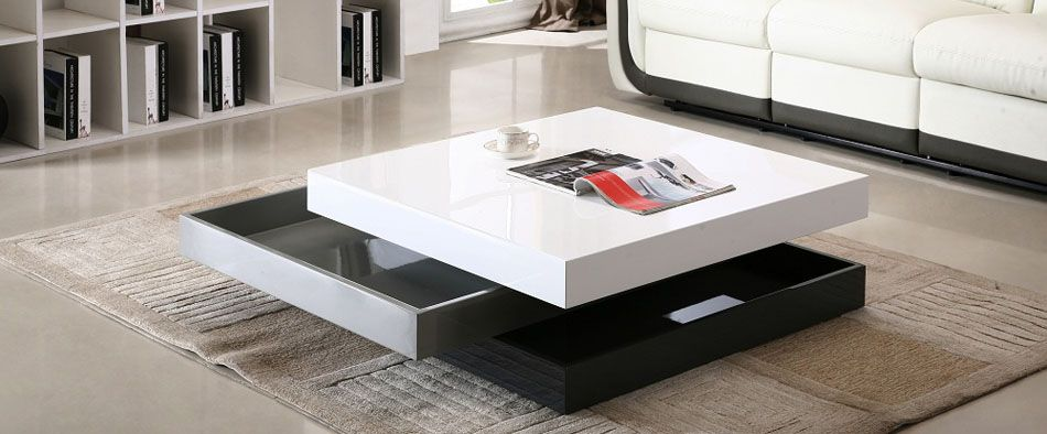 modern italian furniture stylish coffee table with unique design YMYAMLD