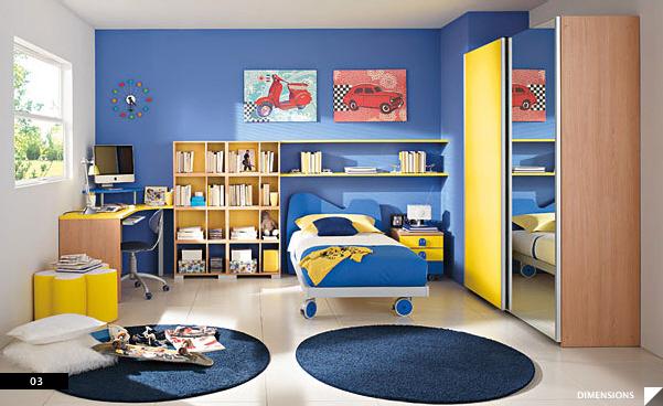 modern kids bedroom. furniture maker: columbini LWUUUEF