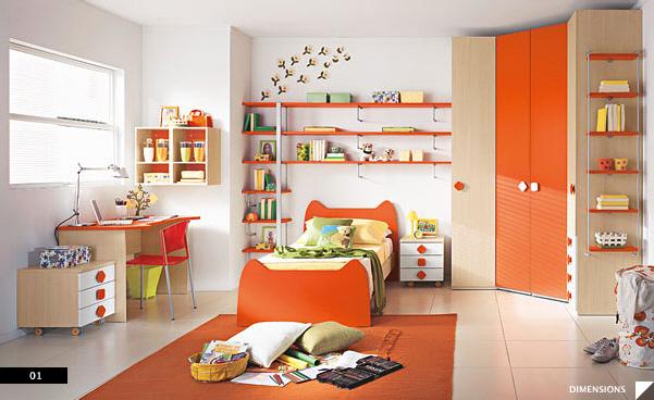 modern kids bedroom KJLIXIU