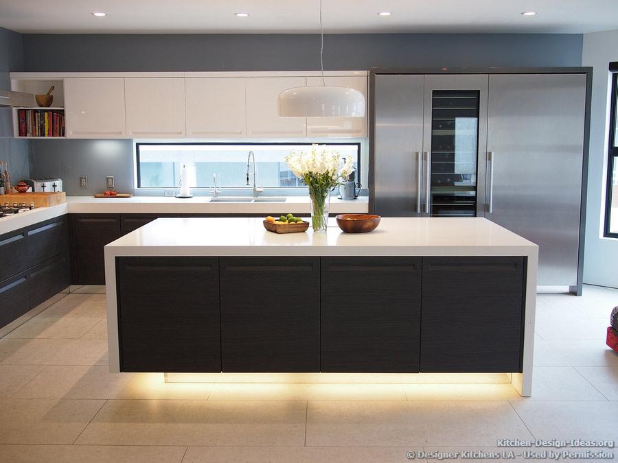 modern kitchen design #kitchen of the day: modern kitchen with luxury appliances, black u0026 white NCKNMPP