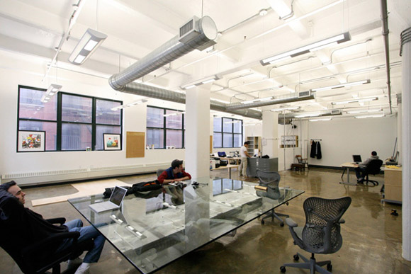 Designs of modern office drive the productivity