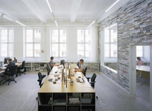 modern office oktavilla by elding oscarson architects QJXURZN