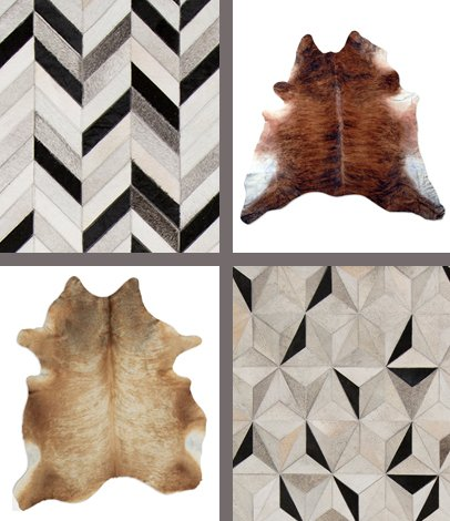modern rugs cowhide rugs HNMCNEV