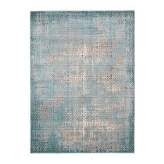 modern rugs nourison - karma rug, blue, ... IIBAMJW