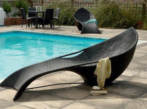 modern sun loungers - ocean lounger by alexander rose FNHBLAO