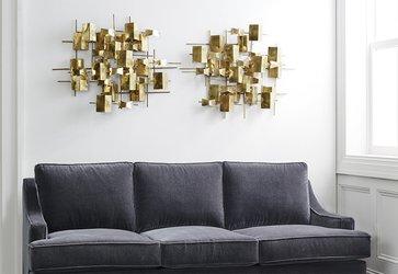 modern wall art customer favorites: metal wall accents HZSTUXX
