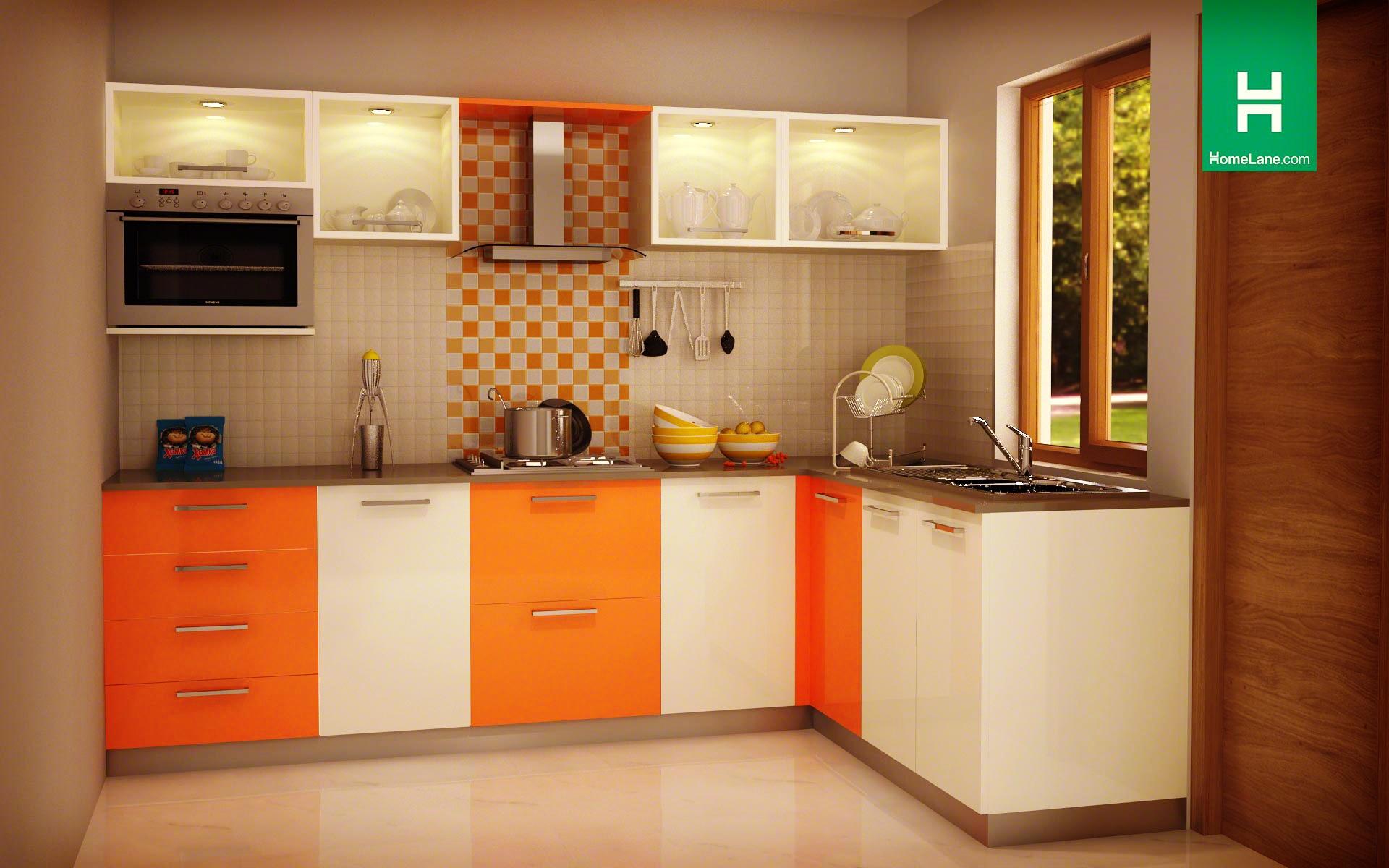 modular kitchen condor exquisite l-shaped kitchen ODFSTVG