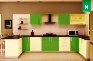 modular kitchen condor retro u-shaped kitchen (with breakfast counter) VQAYLFP