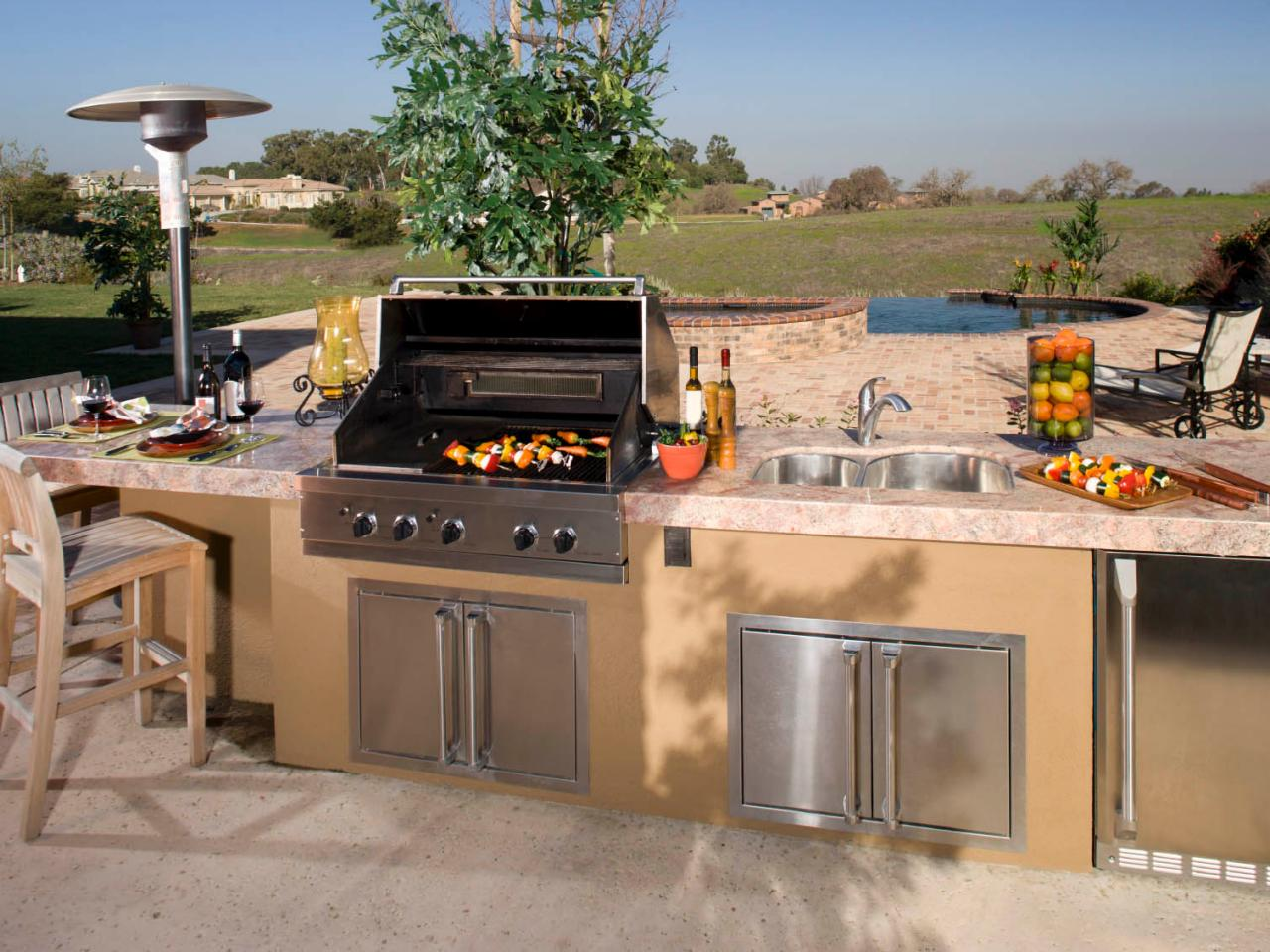 modular outdoor kitchens modular outdoor kitchen kits and accessories QVXKVYP