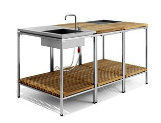 modular outdoor kitchens outdoor kitchen from viteo outdoors - a modular patio kitchen AEYGLWQ