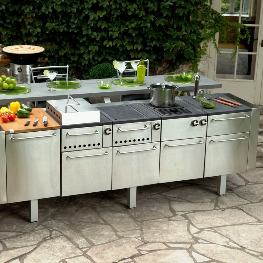modular outdoor kitchens ... winning outdoor kitchen island modules strikingly ... AAIIYQG
