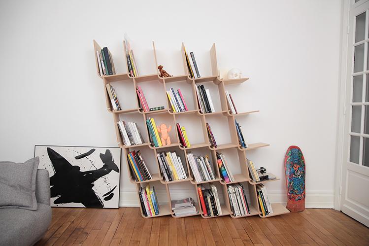 modular shelving modular l bookshelf expands infinitely in any direction WVUZIYB