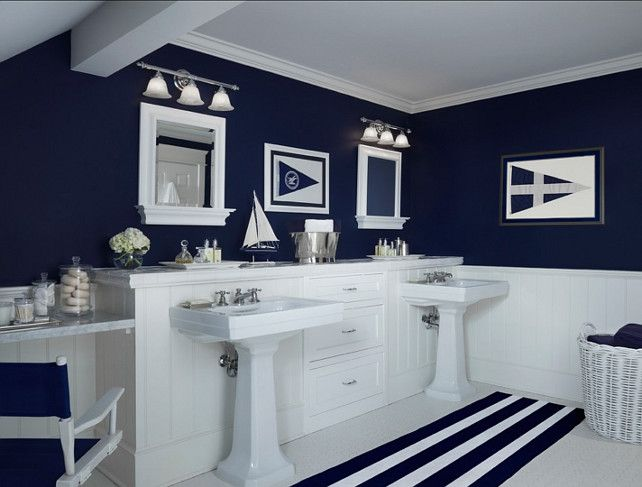 nautical bathroom decor 20 beautiful beach bathroom decors. nautical bathroom decornavy ... WUETDNI