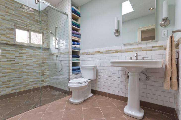 neutral color tiles for bathroom AZVXRDT
